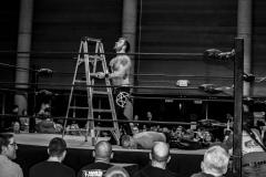 Ladder Match between Jacob Savage vs. Orin Veidt